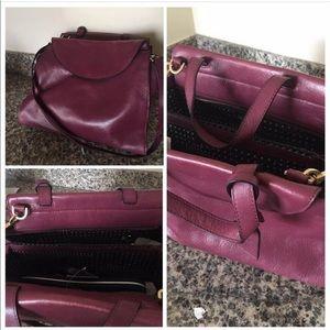 Like new Kate Spade Saturday maroon purse